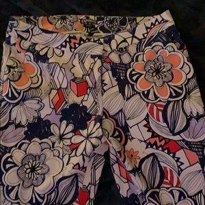Express patterned Columnist pants size 12R